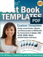 Best Book Templates