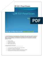 LDR 531 Final Exam Latest UOP Final Exam Questions With Answers
