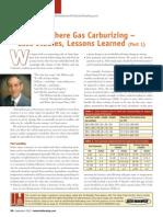 Atmosphere Gas Carburizing