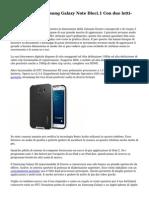 Recensioni Di Samsung Galaxy Note Dieci.1 Con due letti-core