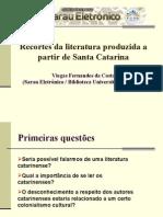 recortes da literatura produzidaa partir desanta-140127151524-phpapp01