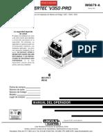 Manual de Operador Lincoln v350 Pro