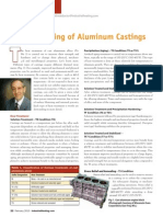 Heat Treating of Aluminum Castings
