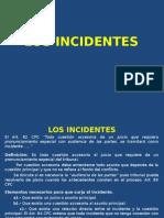 Curso Preparación Examen Grado (Los Incidentes)
