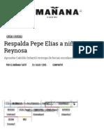 07-13-2015 Respalda Pepe Elíasa Niñez de Reynosa