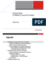 20090414 Solution Brief - FortiMail for Service Providers