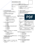 Examen Bimestral III de FFCC 2do