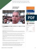 07-12-2015 Cubierto El 50% Del Programa de Reparación de Caídos_ Alcalde