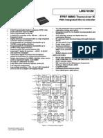 LMS7002M64MHz RF Digital Transceiver