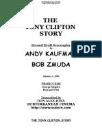 The Tony Clifton Story