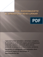 Diagnosticul Radioimagistic Al Aparatului Reno-urinar