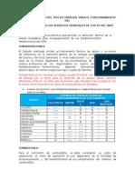 Analisis comparativo de combustibles en el peru