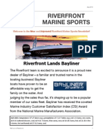 Riverfront Marine's July Newsletter