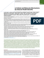 Understanding the Cellular and Molecular Mechanisms of Physical Activity-Induced Health Benefits
