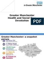 GM Health Social Care Devolution Standard Slides July 2015 FINAL