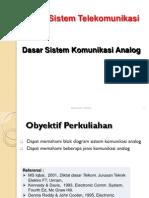 3.1 Dasar Sistem Komunikasi Analog Rev 1
