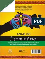 Anais Encontro INternacional Fronteiras e IdentidadesEvento Cultura Afro PDF