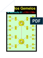 M-61 (1761-1780) Anillos Gemelos