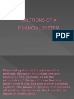 Functions of FinancialFUNCTIONS OF FINANCIAL SYSTEM.