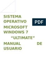 Manual de Windows 7 Ultimo