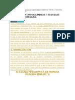 escal pentatonica