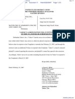 Spark Network Services, Inc. v. Match.Com, LP et al - Document No. 11