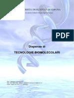Dispense Tecnologie Biomolecolari 2010