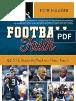 An Excerpt from Football Faith by Rob Maaddi