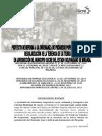 Reforma de La Ordenanza Mi Propiedad 2015