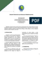 Estudio General de Las Antenas de Radiofrecuencia