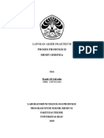 laporan gerinda (Universitas RIau)