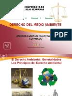 Derecho Del Medio Ambiente - Unidad 01