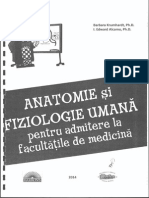 Anatomie Si Fiziologie Umana Pentru Admitere La Facultatile de Medicina - Barron's p1