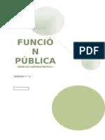 FUNCIÓN PÚBLICA Monografia-Derecho Administrativo