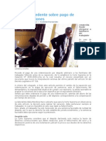 Dictan Precedente Sobre Pago de Indemnizaciones, Asesor, 09 Mayo 2012, A La,Gerencia