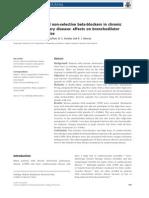 Cardio-selective and Non-selective Beta-blockers in Chronic