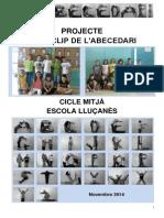 Projecte Viceoclip Escola Lluçanès