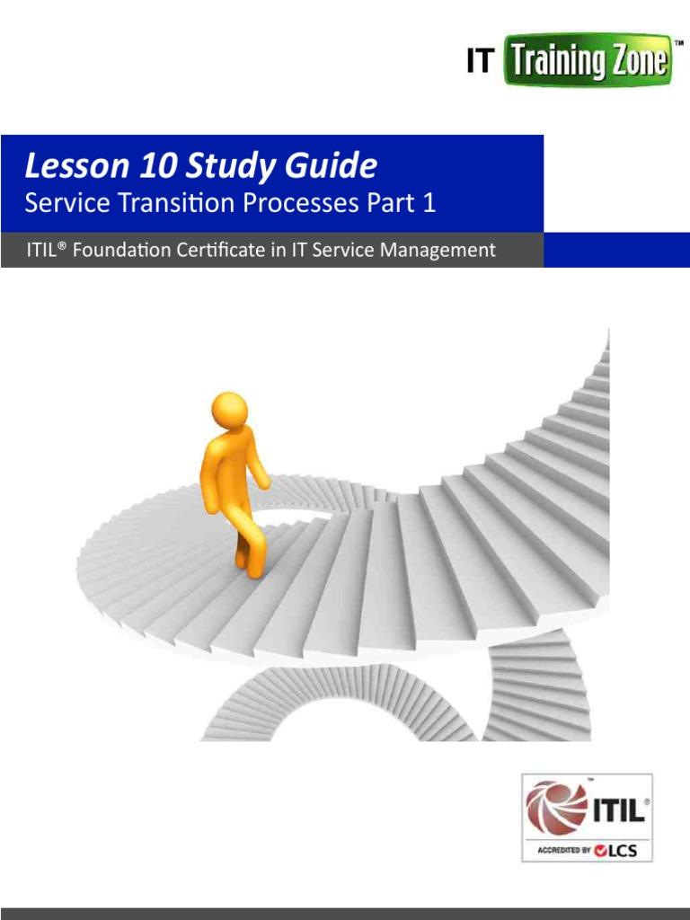 lesson-10-service-transition-processes-part-1.pdf | Itil | Change Management