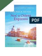 Veronica Henry - Noć u Orient Expressu