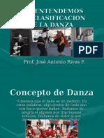Clasificacion de Danzas Folkloricas