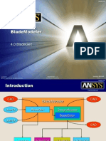 Using ANSYS BladeGen