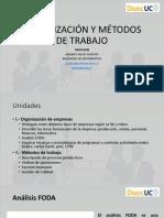 Organizacion y Metodos de Trabajo - Foda