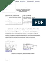 CNG Financial Corporation v. Google Inc - Document No. 47