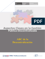 ABC de La Descentralizacion