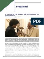 Fernando Mires (2015) El Crucifijo de Evo Morales. Una Interpretación