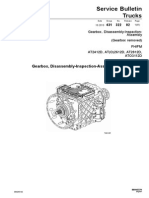 Gearbox, Disassembly-Inspection-Assembly (Gearbox Removed)