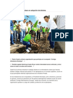 11.07.15 IP colabora con Esteban en adopción de árboles
