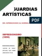 Vanguardias Artísticas Del Impresionismo Al Surrealismo (1)