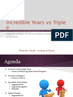 ppp vs incredible years