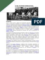 Historia Del Atletismo Internacional y Nacional